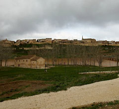 the hilltop village of Maderuelo