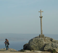 Cruz de Hierro, highest point on the camino
