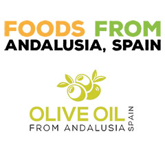 foods from andalucia, spain logo