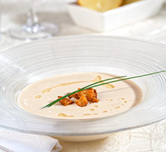 ajo blanco garlic soup