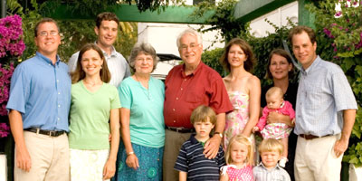 the Harris family in 2006