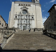 facade of Cathedral Girona