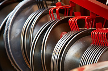 Selection of Steel Paella Pans