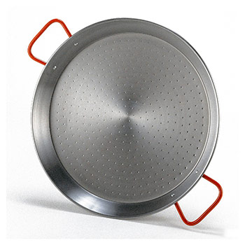 Traditional Steel Paella Pan
