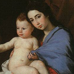 painting of the holy family by Jusepe de Ribera