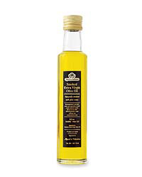 bottle of smoked olive oil