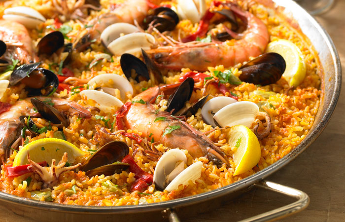 Paella de Marisco - Seafood Paella