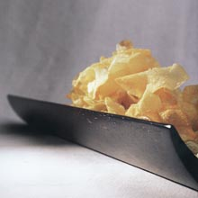 Lemon-flavored Potato Chips